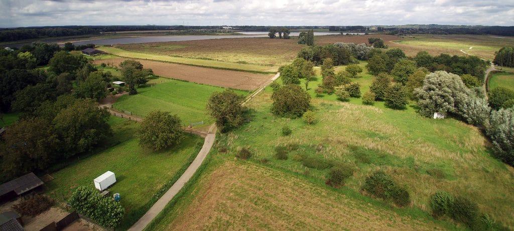 luchtfoto Itteren Wandelen Maastricht